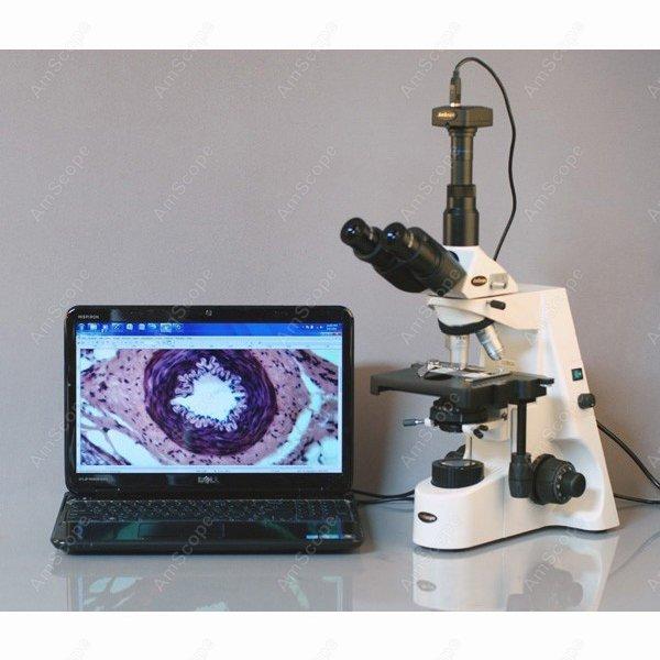 Darkfield microscópio-amscope fornece 40x-2500x profissional plano infinito kohler trinocular darkfield microscópio