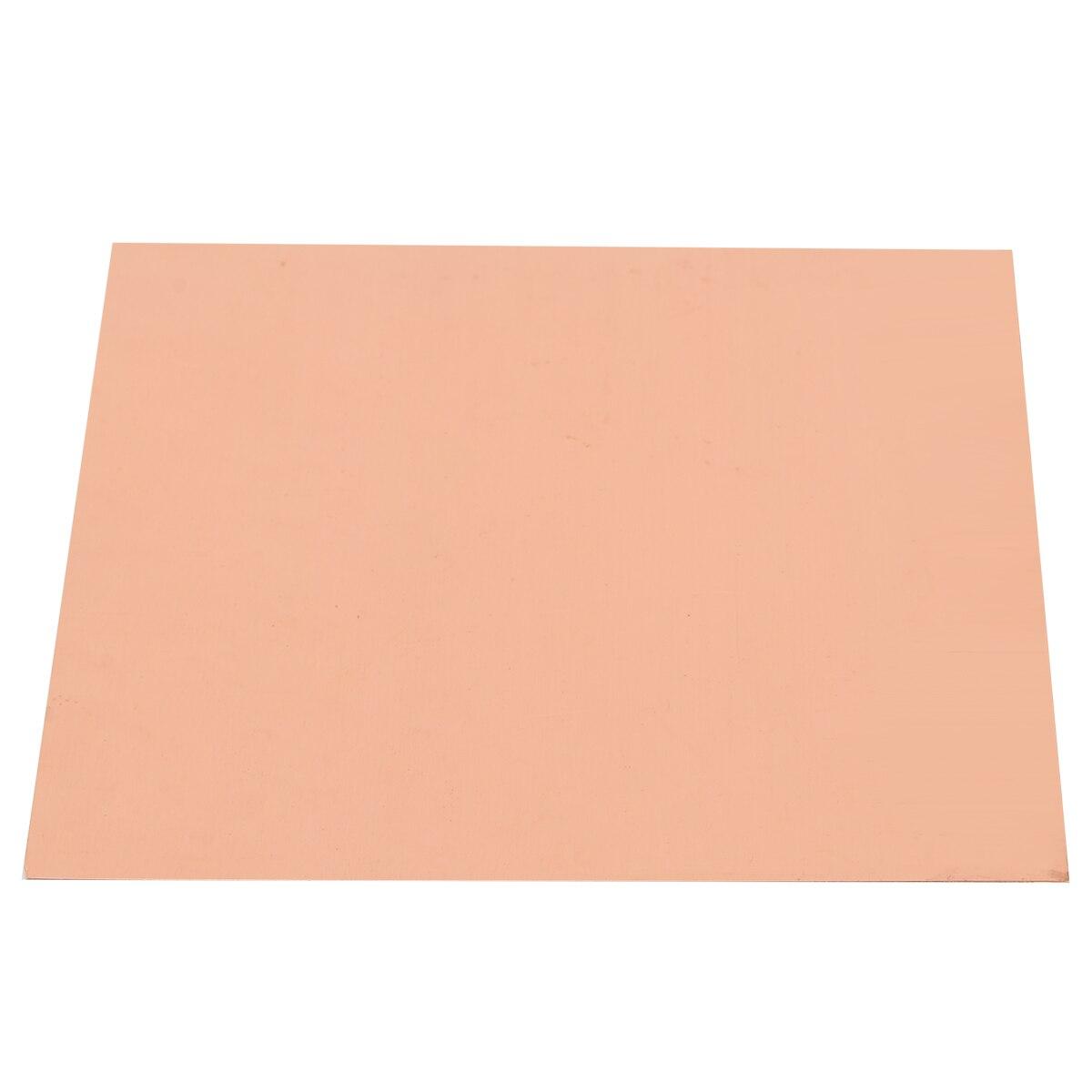 99.9% hohe Reinheit Kupfer Blatt Cu Metall Flache Folie 0,2mm Dicke Reinem Kupfer Platte für Schweißen und Löten 100 * 100mm
