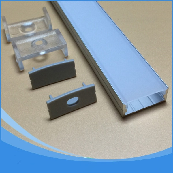 40PCS-2m length aluminum extrusion profiles for led lighting-Item No.LA-LP20B LED Profile for LED strips up to 20mm width