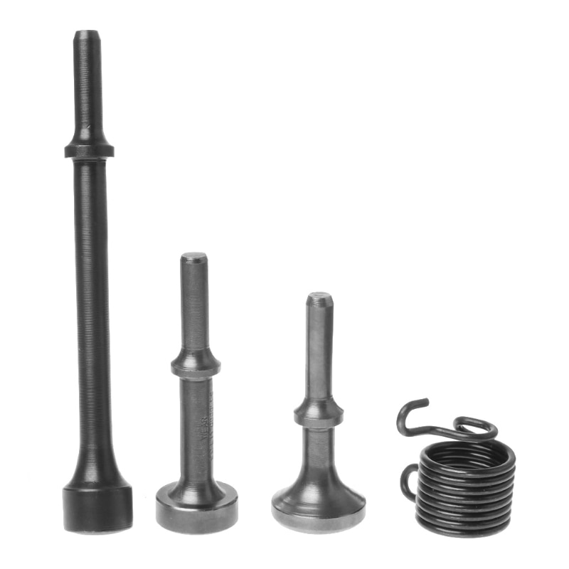 3PCS Smoothing Pneumatic Air Hammer BitS Long Bit Tool &1* Spring Tire Repair lirunzu