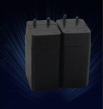 2 sztuk/partia 4 V 800 mAh akumulator kwasowo-ołowiowy akumulator lampy, latarki, elektryczny packa na komary baterie darmowa wysyłka