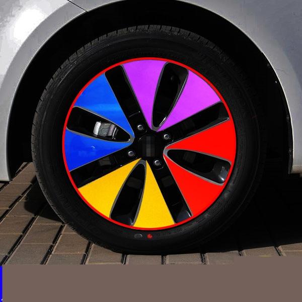 Plating 14/16 Inch Rims Wheels Decorated Sticker For Kia K2 Z2CA785