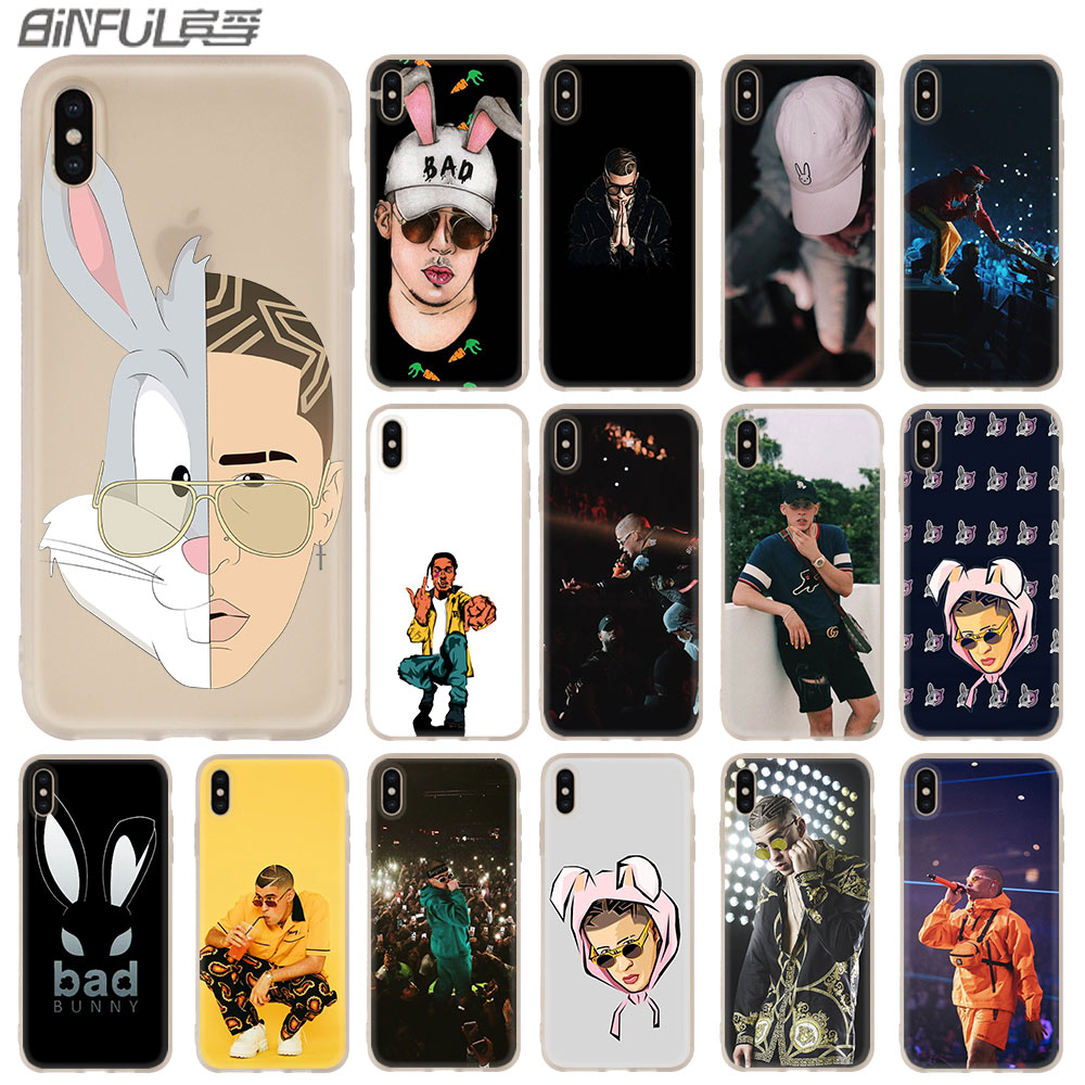 Чехол Bad Bunny Maluma Ozuna POP в стиле хип-хоп для iphone XS 11 Pro Max XR X 10, чехлы для телефонов iphone 7 8 plus 6s 5 4s