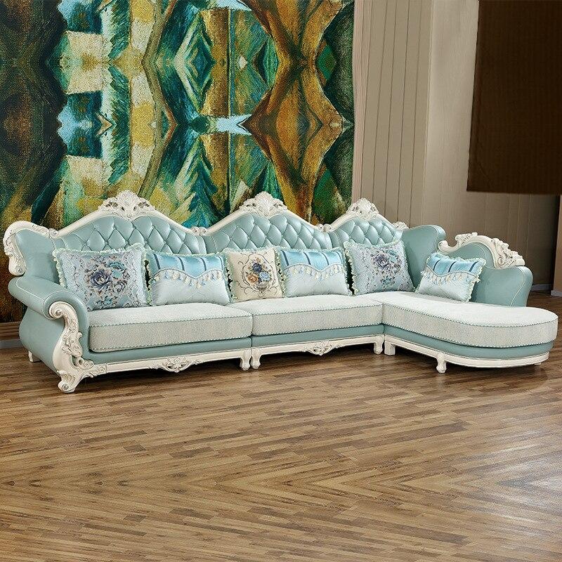 Canapé de luxe de Style européen mis meubles de salon chine