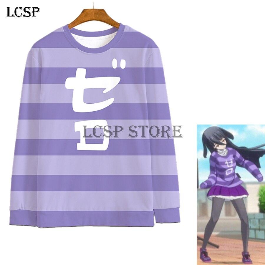 LCSP Anime japonés ZOMBIE tierra SAGA Yamada Tae Cosplay mismo Top camiseta traje camiseta ropa