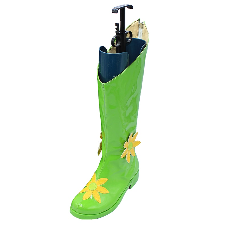 Brdwn Digimons женские Lilimon Зеленый Средний теленок сапоги на заказ