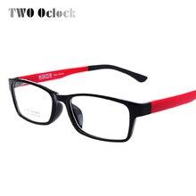 TWO Oclock-lunettes TR90 Ultra légères   Monture transparente pour femmes et hommes, lunettes à petites montures optiques, lunettes Oculos de grau gafas, 1302