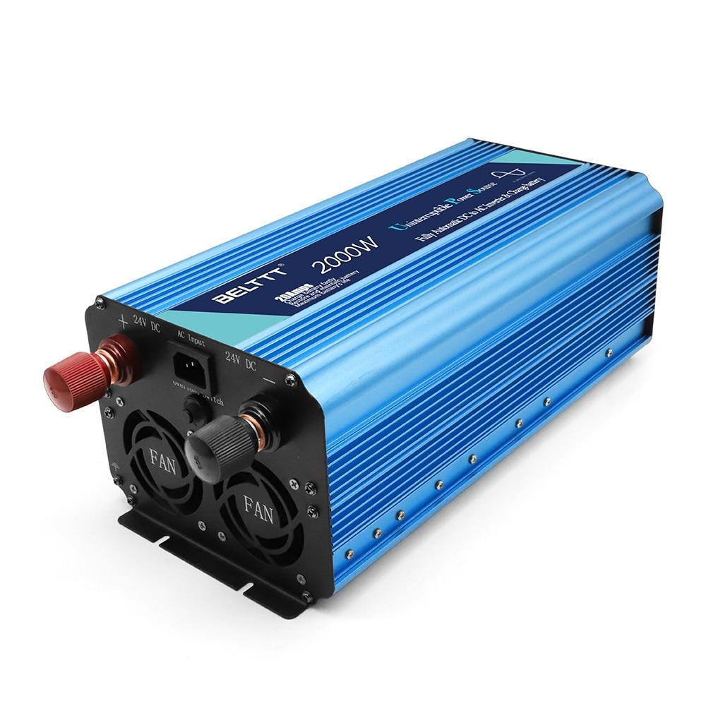Inversor de energía solar 2000W grande inversor de poder 2000W UPS para ordenador portátil