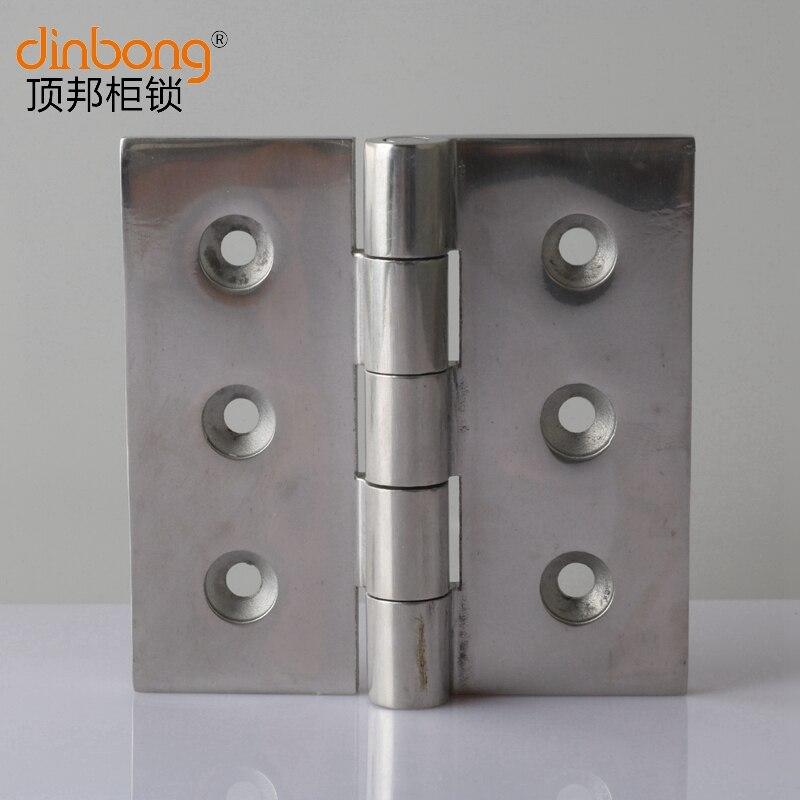 Dinbong DB064-4 حالة مجلس الوزراء الباب المفصلي الميكانيكية الباب المفصلي المفصلي الفولاذ المقاوم للصدأ مربع المفصلي