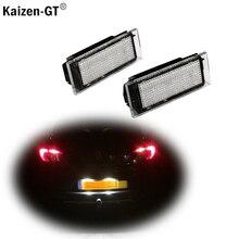 Auto LED Anzahl Lampen Weiß Lizenz Platte Lichter Für Renault Megane 2 Clio Laguna 2 Megane 3 Twingo Master Vel satis Opel Movano