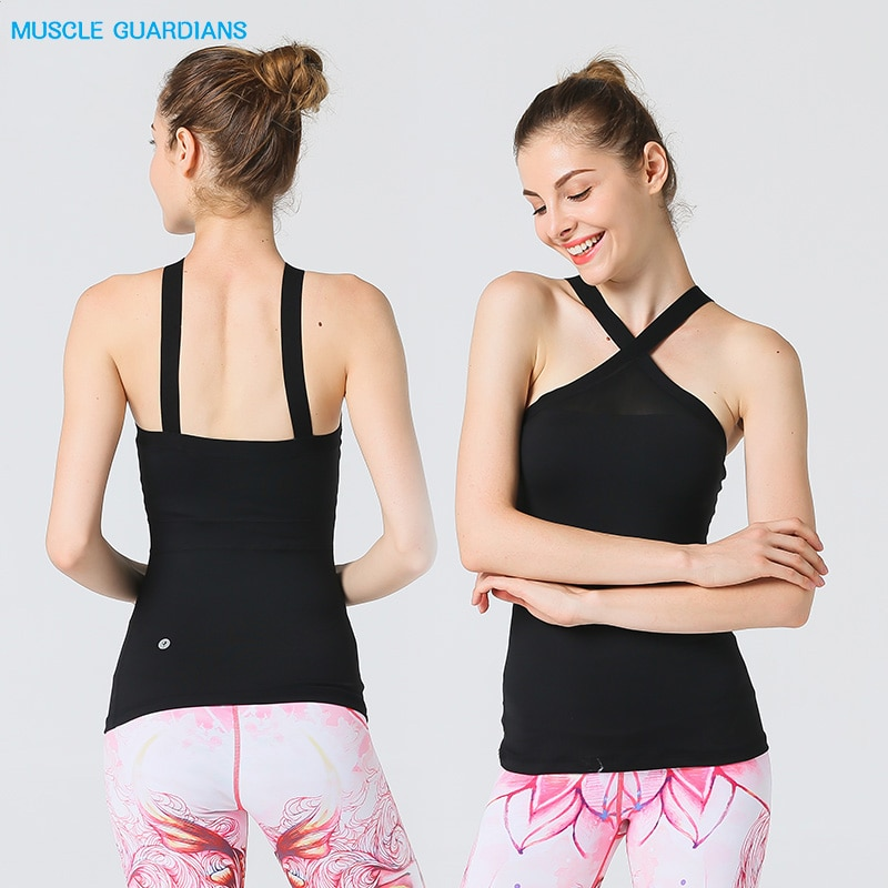 Sujetador deportivo para mujer, malla transpirable, chaleco de yoga con relleno extraíble, sujetador para correr, yoga, gimnasio, ropa