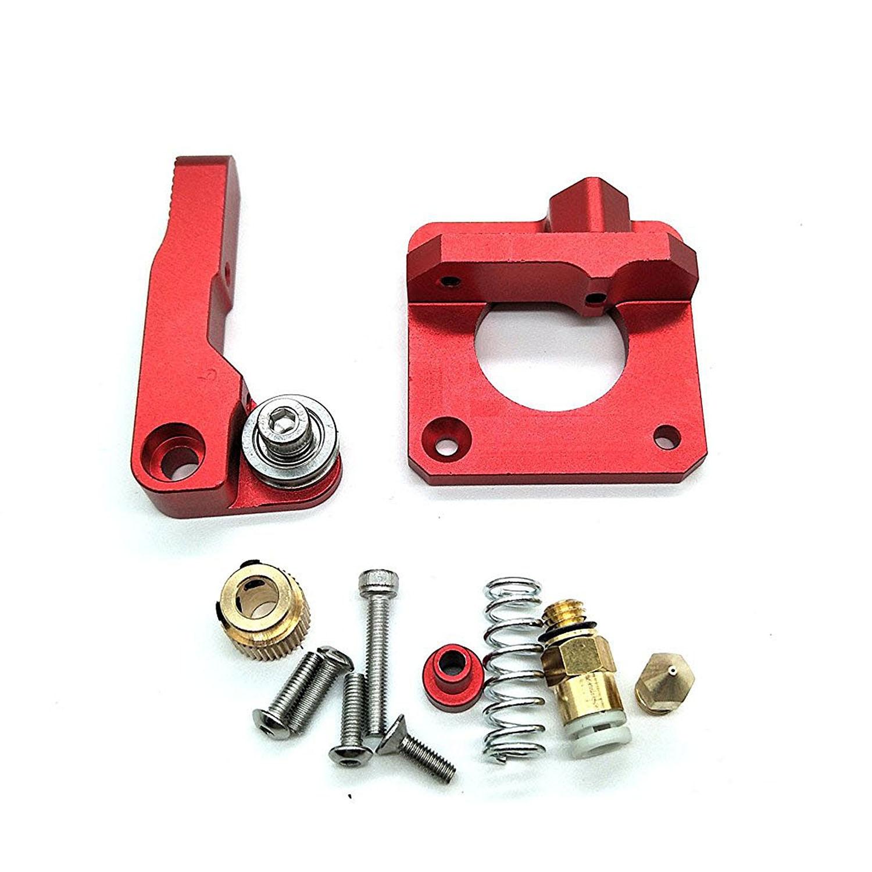 Extrusora de BGCS-CR-10 de repuesto actualizado, extrusora de aluminio MK8 de alimentación de impresora 3D para Creality CR-10, CR-10S, CR-10 S4, C