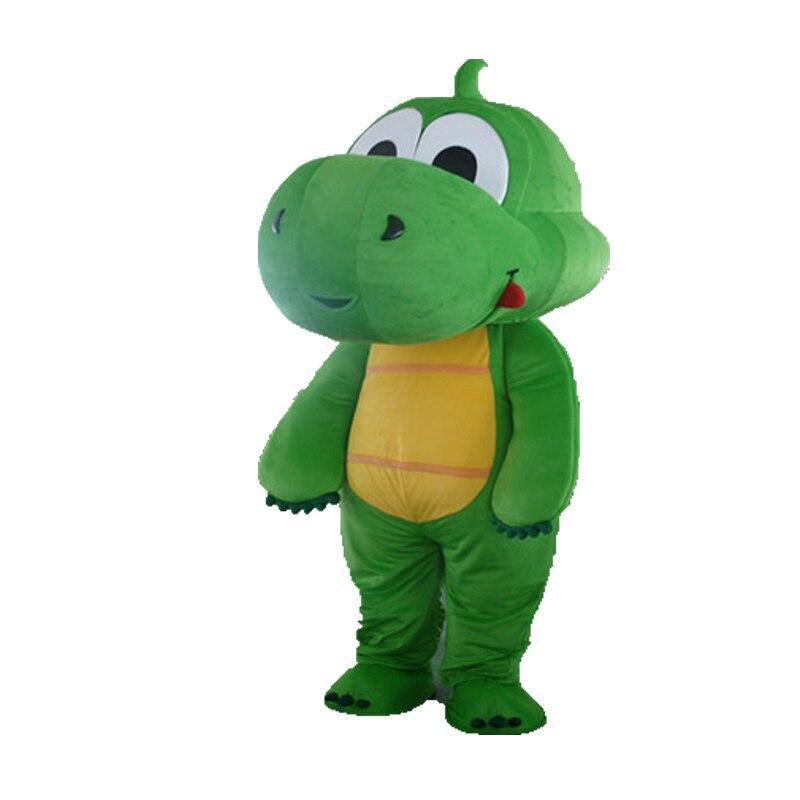 2017 nuevo disfraz de Mascota de dragón verde hierba a granel/disfraz de Mascota de dragón/disfraz de Mascota de El tamaño puede ser personalizado adulto