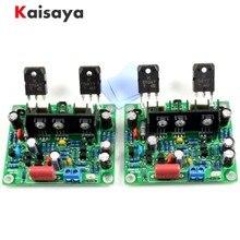 2 pièces HiFi MX50 SE 2.0 double canal 2x100 W stéréo amplificateur de puissance kit de bricolage et carte finie