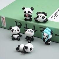 8pcs cute panda fridge sticker room message stick panda decoration refrigerator souvenir fridge sticker children birthday gift