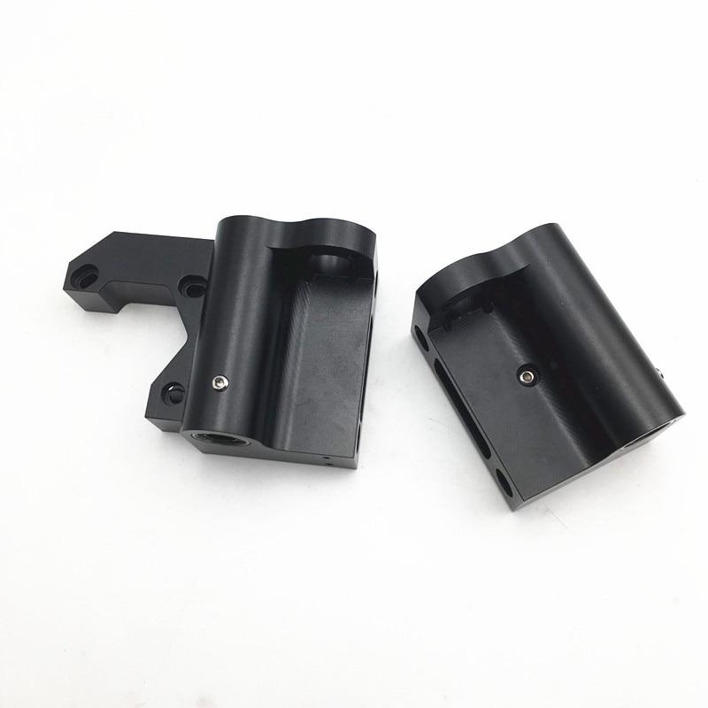 LM8UU Anet A8/Prusa i3 MK2S/MK3 upgrade aluminum X motor/X idler kit metal kit with X belt tensioner function 17/22mm  distance