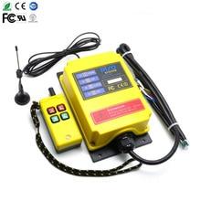 1 transmetteur + 1 pompe à boue de réception   Pour télécommande industrielle sans fil de 500 mètres à longue distance, télécommande industrielle