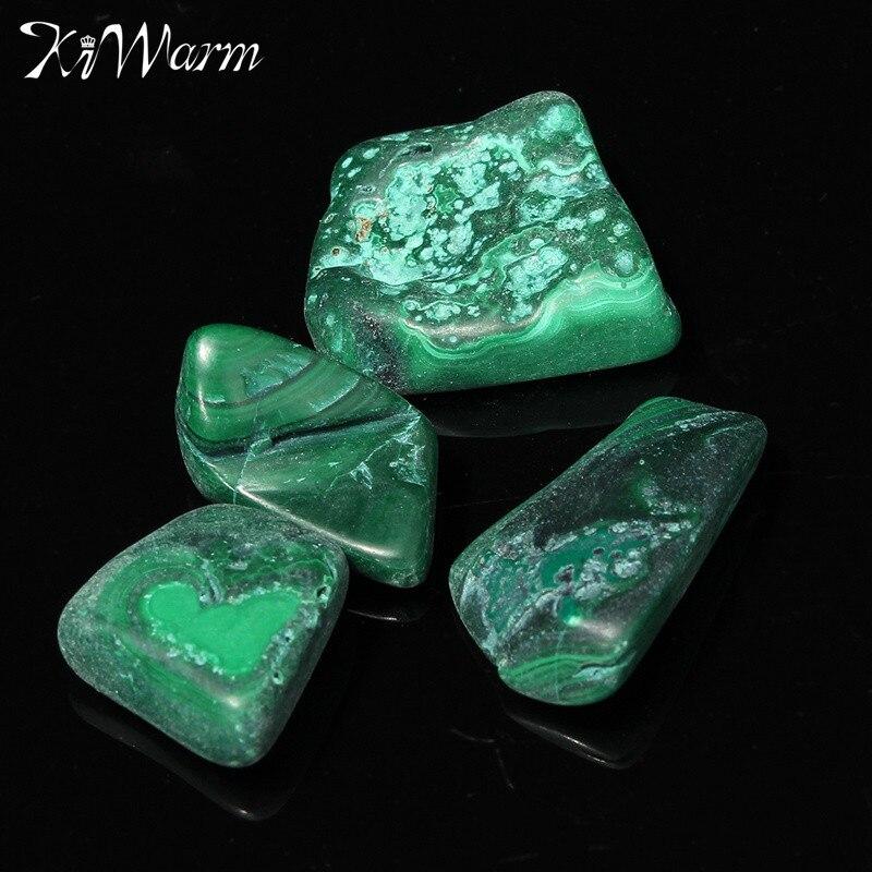 KiWarm Hot Chrysocolla caída de piedras malaquita cristal curativo piedras preciosas para pecera acuario Flowerpot decoración 20-30mm