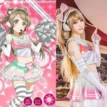 Lovelive amour en direct Minami Kotori pom-pom girl t-shirt robe uniforme tenue Cosplay Costumes