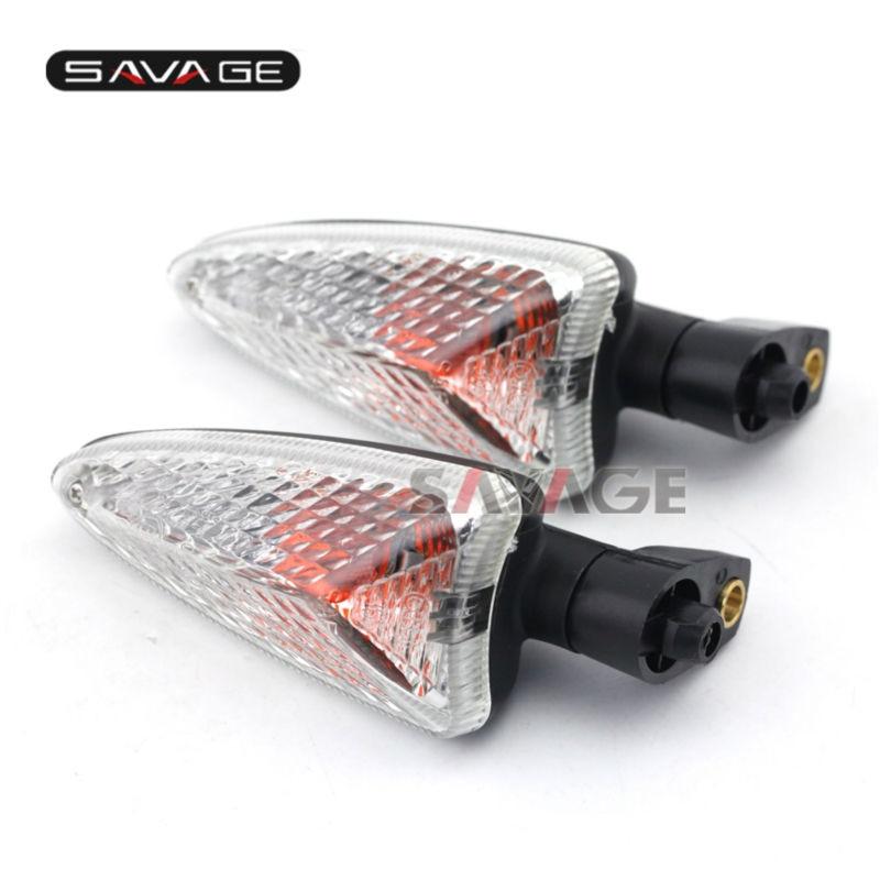 Indicateur de retournement court SMV   Pour Aprilia SMV 1200 Dorsoduro ETV 1200 Caponord 2011-2015 accessoires de moto, lampe tournante