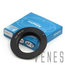 Pixco AF III confirmer la combinaison pour lobjectif M42 à ladaptateur EOS pour la caméra Canon EF anneau de montage 60D 550D 600D 7D 5D 1100D noir
