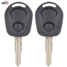 KEYECU 2 Pcs/lot New Replacement Remote Car Key Shell Case Fob 2 Button for Ssangyong Actyon Kyron Rexton