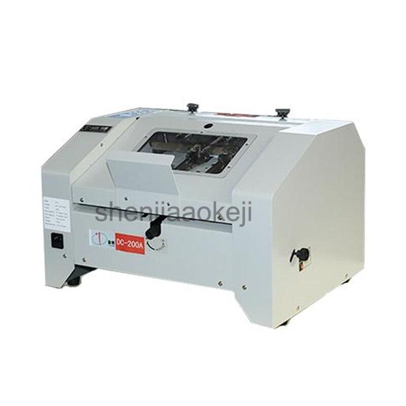 Rebatimento elétrico Máquina Livreto Grampos e vinculativo máquina grampeador do folheto Dobrável que faz a máquina Totalmente automática 220 V/110 V