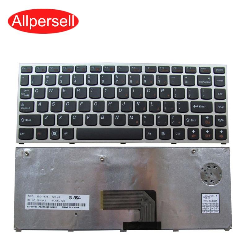 Laptop keyboard For Lenovo U460 U460A Brand New US  Silver border