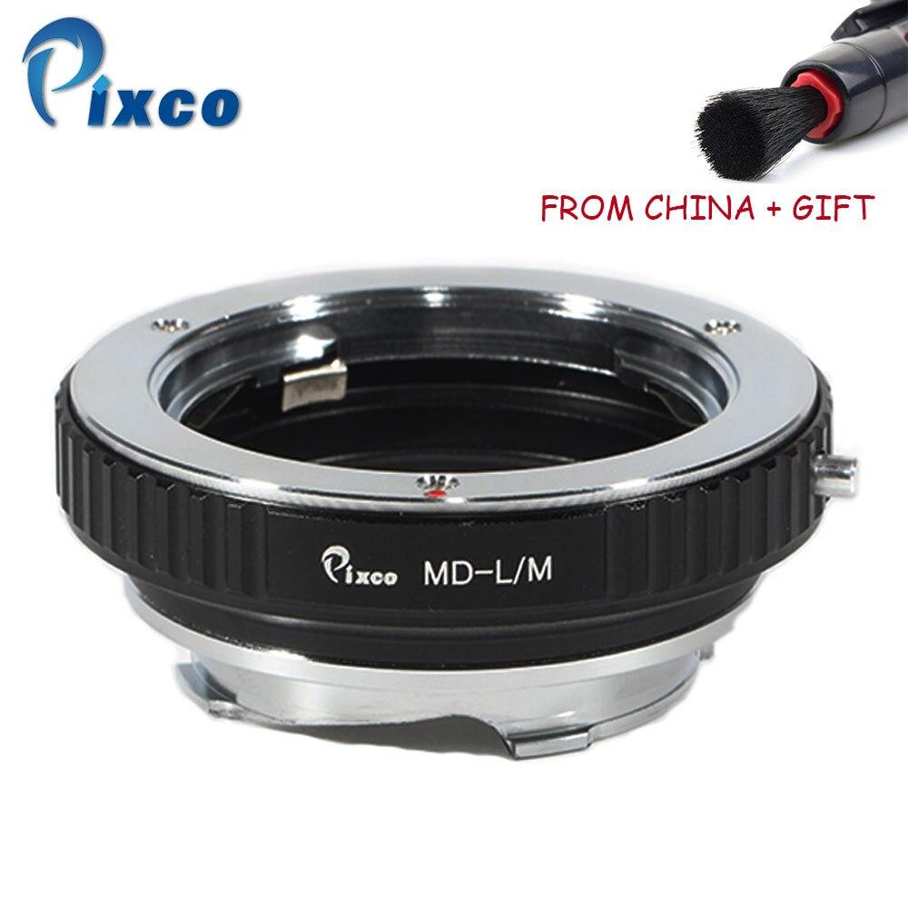 Adaptador de Lente Pixco para Md-l Suit para Minolta Lente para Leica 262 tipo 240 M10 Typ Monochrom 246 – m md M10-d M10-p