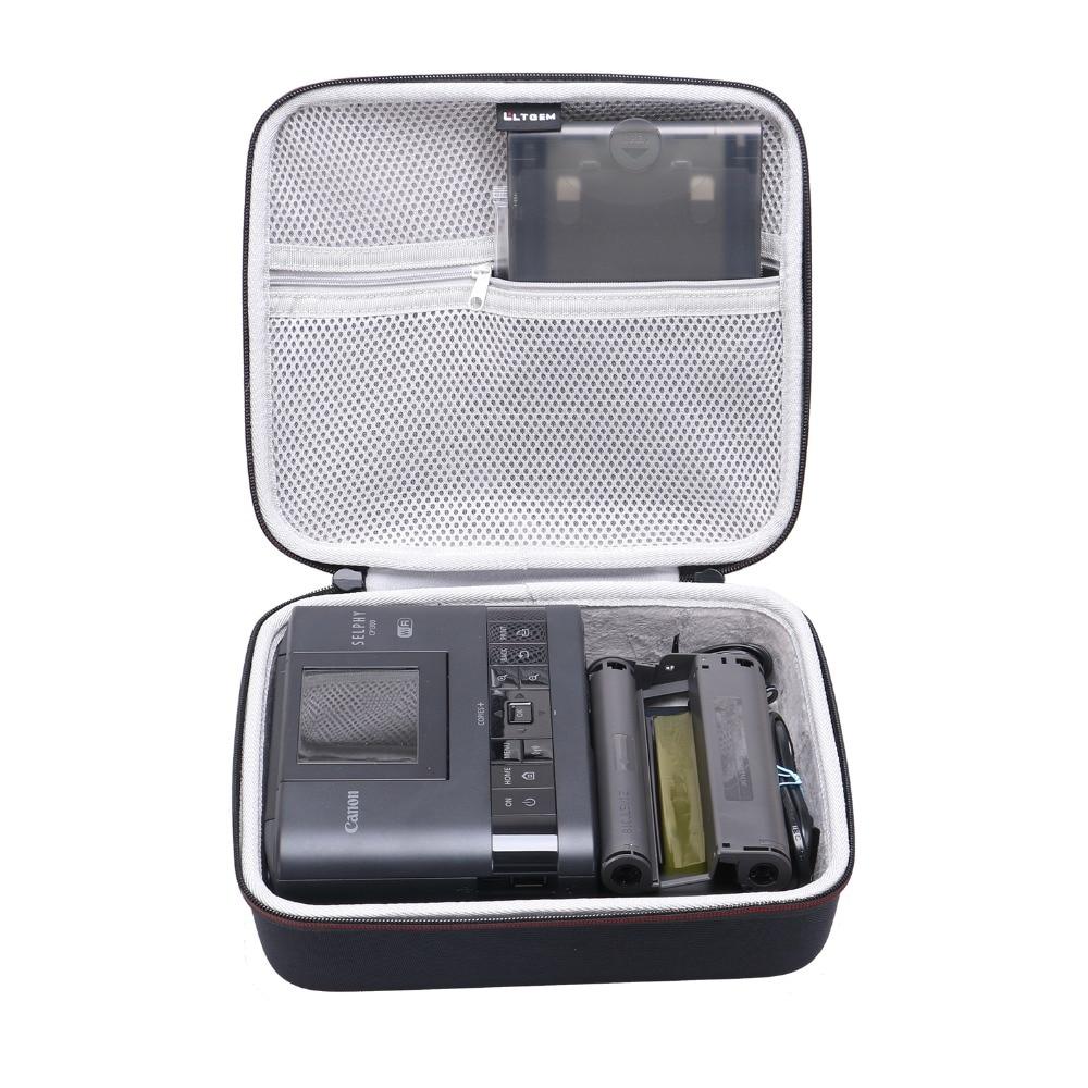 Жесткий чехол LTGEM EVA для Canon SELPHY CP1200 и CP1300, беспроводной Компактный фотопринтер, дорожная Защитная сумка для хранения