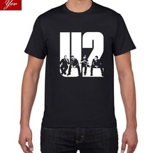 103 2018 ใหม่U2 ออกแบบสั้นฤดูร้อนสั้นเสื้อผู้ชายT Shirtสบายๆฝ้ายTeeเสื้อแฟชั่นผู้ชายSlim Fitเสื้อยืดชายO-Neck ...