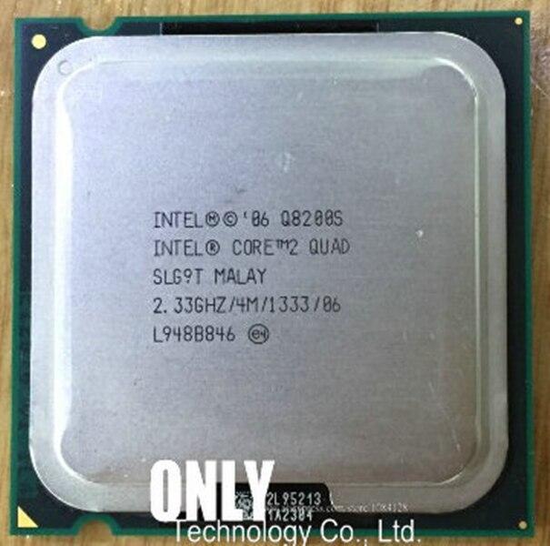 Четырехъядерный процессор Intel Core2 Q8200S (4M кэш, 2,33 ГГц,) 65 Вт LGA775 Процессор для настольного компьютера desktop cpu intel core2core2 quad   АлиЭкспресс