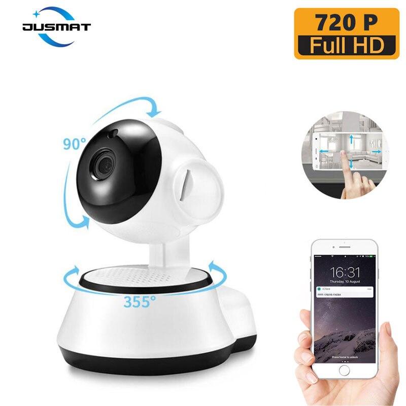 Tragbare Überwachung Ip-kamera zwei weg intercom baby monitor home Anti-diebstahl 720 P Wifi kamera EU/UNS /AU/UK standard power