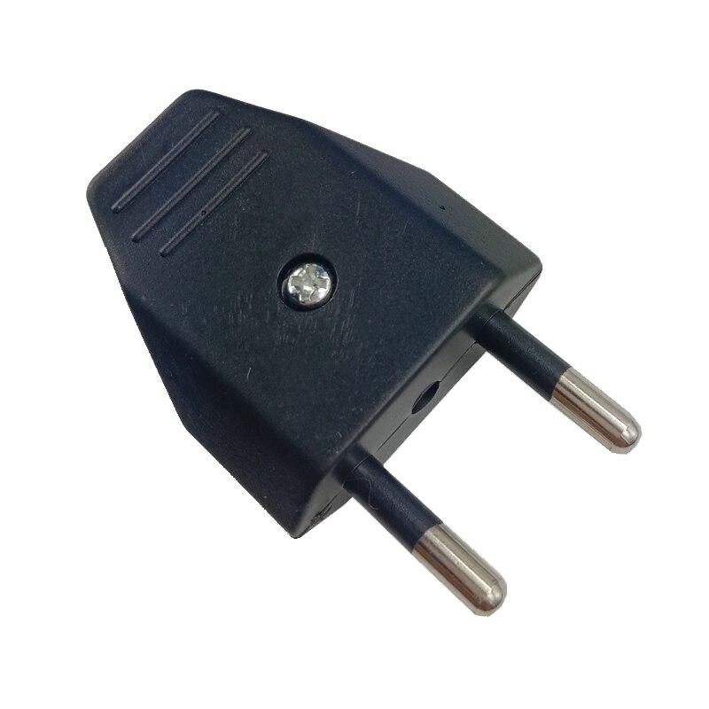 Blanco negro desmontable cableado de montaje de enchufe de la UE enchufe 4,0mm eléctrico suizo Italia enchufe de cable de alimentación industrial