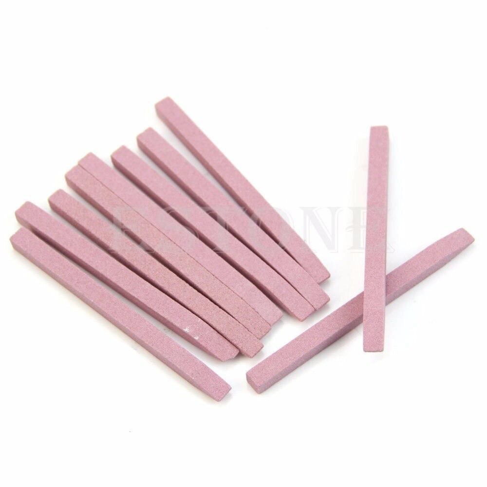 1 ud. Lima de uñas de piedra, lima de uñas para manicura, herramienta para uñas, piedra pómez, empujador de cutícula 39106
