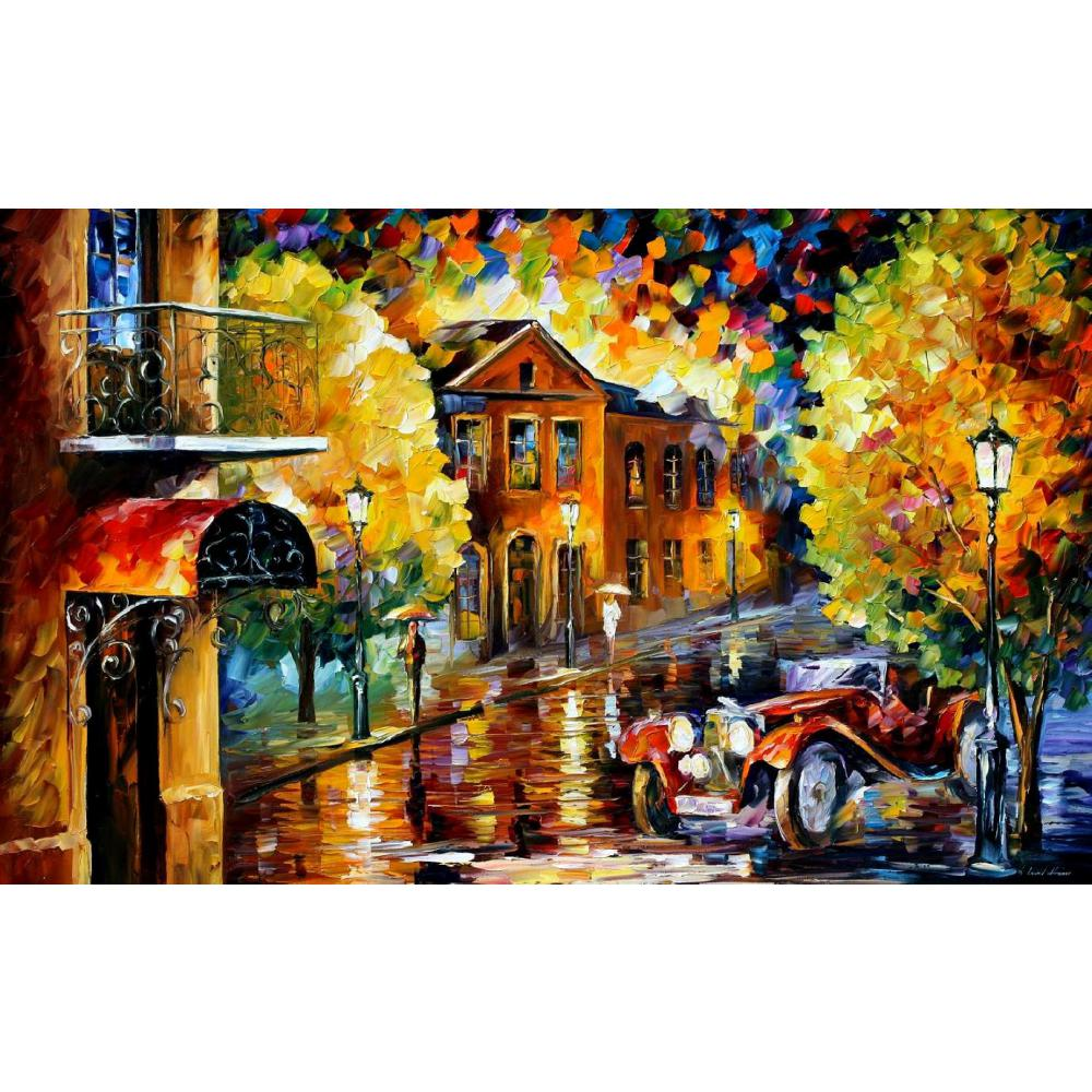Arte Contemporáneo jaguar cuchillo pintura al óleo lienzo hermosas imágenes de paisaje para decoración de pared