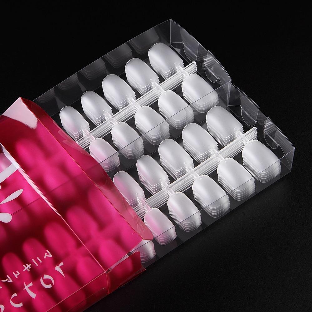 Ультратонкие квадратные гибкие матовые гибкие 288 шт., ультратонкие накладные ногти с полным покрытием, накладные ногти