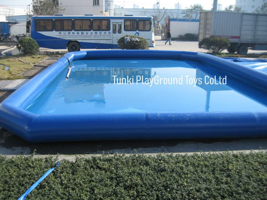 Verano Divertido juego de agua PVC piscina inflable 10x8x0.6M