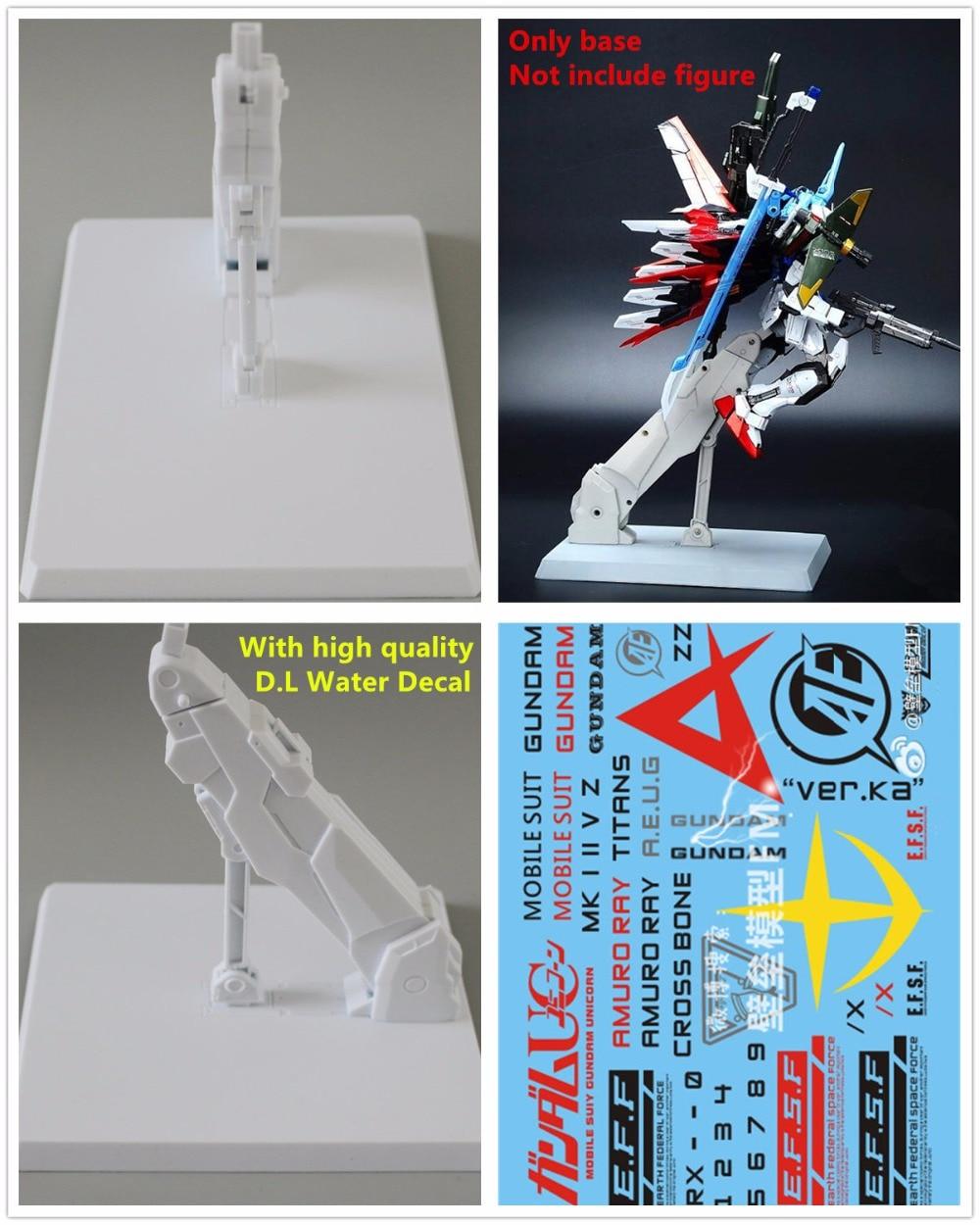 Modelo de fortaleza e. f. s. f base para mb mg bandai 1/100 titãs mk zz gundam unicorn db014