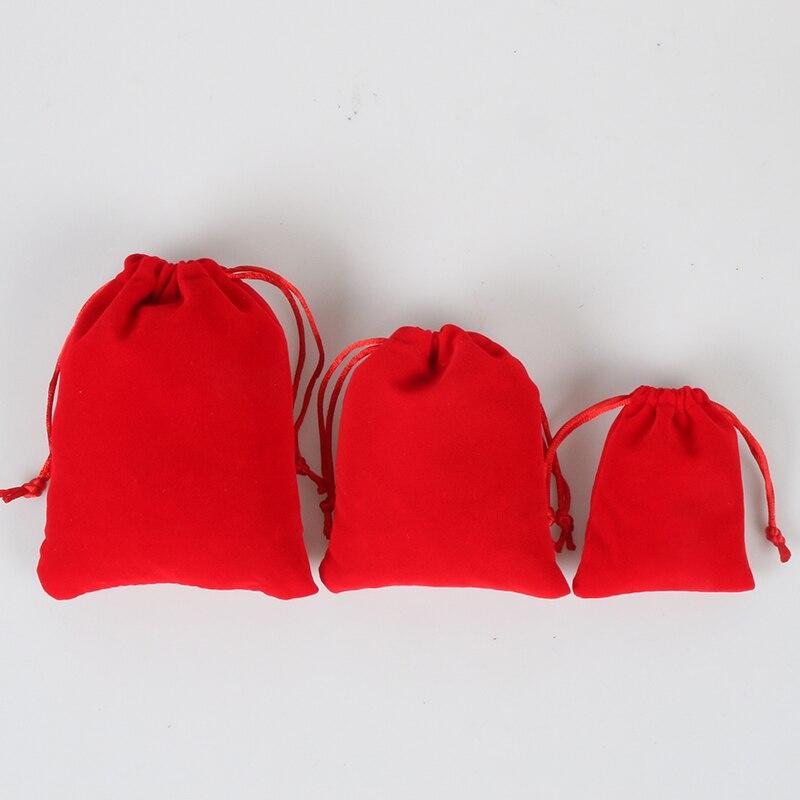 Fabricante directo bolsas de terciopelo con cordón para teléfono móvil de mesa pc accesorios de HDD bolsas de joyería de regalo bolsa personalizada al por mayor