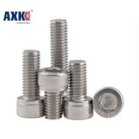 axk m8 m880 m8x80 m8110 m8x110 304 316 stainless steel ss metric thread din912 allen head bolt hex hexagon socket cap screw