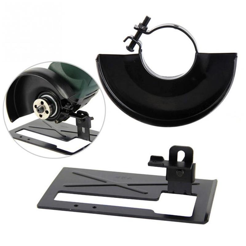 Черная режущая машина, основание металлического колеса, защитная крышка для углового шлифовального станка, шлифовальный станок, стойка, Аксессуары для инструментов
