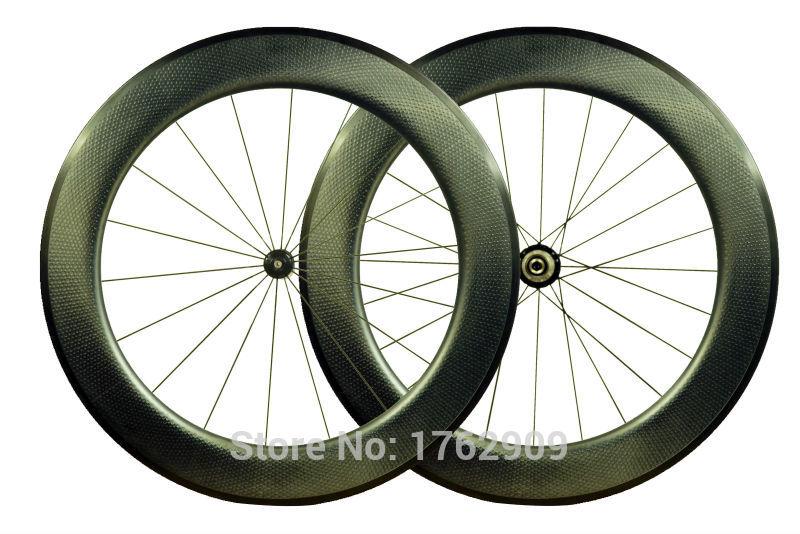 Najnowszy 700C 80mm clincher moonscape felgi rower szosowy matowy UD całości z włókna węglowego zestawy kołowe rowerowe dołek 25mm szerokość darmowa wysyłka