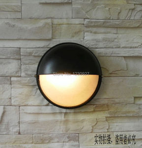 Free ship 3w led outdoor lamp fashion wall lamp waterproof garden light balcony modern brief entrance aisle lights