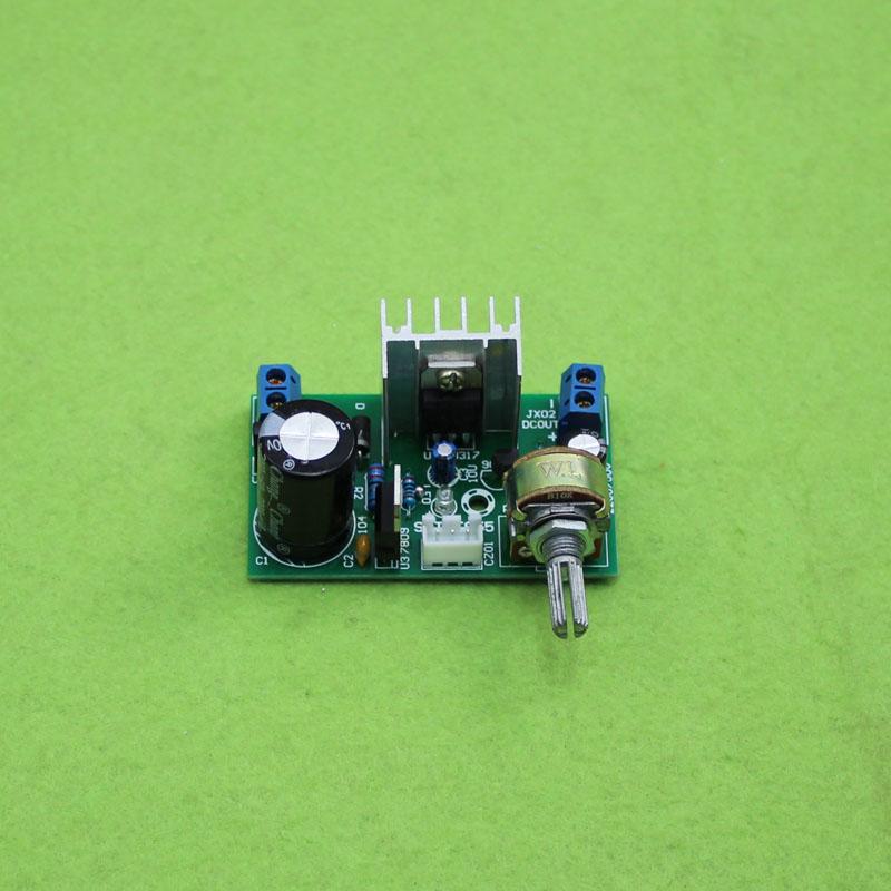 Placa de alimentación LM317 1.5A 1,25 V-37 V módulo regulador ajustable de CC