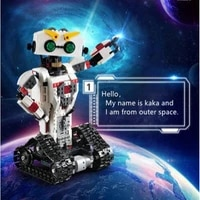 diy assembly educational toy 710pcs 2in1 technic rc transformation deformation robot usb rechargeable humanoid programming toys