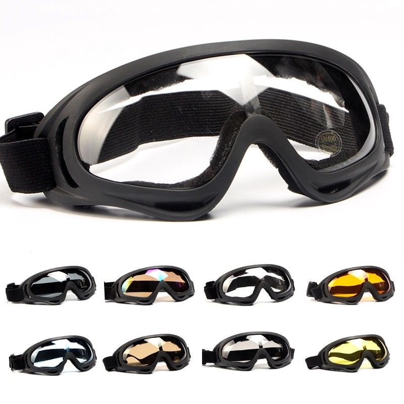 Military Tactical Goggles Glasses Airsoft Paintball Shooting Wargame Army Sunglasses Mens Motorcycle