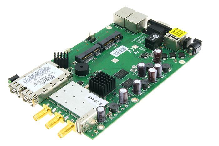 JINYUSHI para MikroTik RB953GS-5HnT-RP SFP Gigabit puente inalámbrico AP router placa base 100% nuevo y original en stock