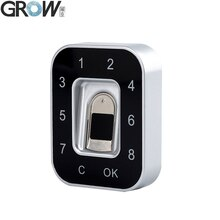 GROW G12 2018 New Design Password Fingerprint Electric Cabinet Lock For Office Home Bank