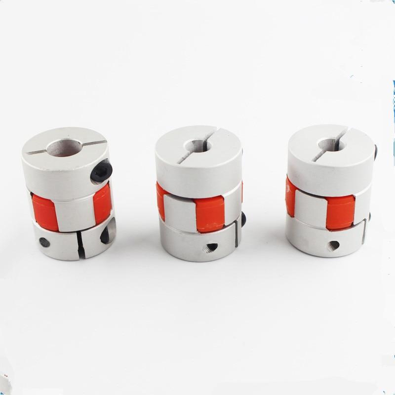 Funssor 2 шт. ось Z 5x8 мм Соединительная муфта для вала челюсти для Reprap Creality CR-10 3D принтера 5 мм до 8 мм гибкий соединительный соединитель маршрутизатора